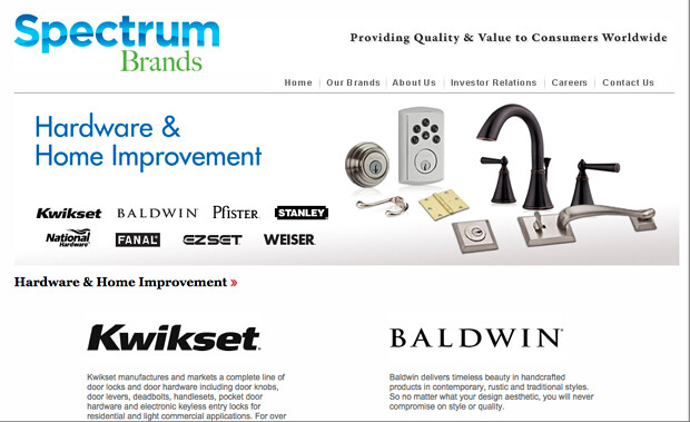 Spectrum Brands has a new leader for its hardware & home improvement division
