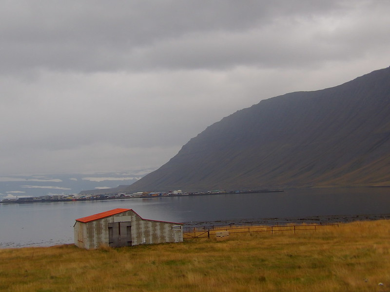 Across from Isafjordur