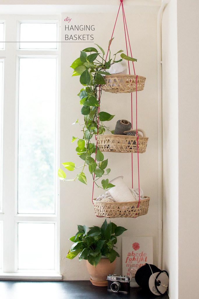 Diy Hanging Baskets A Pair Amp A Spare