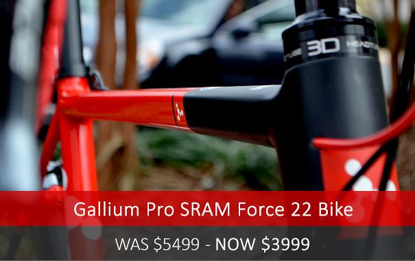Argon Gallium Pro SRAM Force 22 Bike SALE