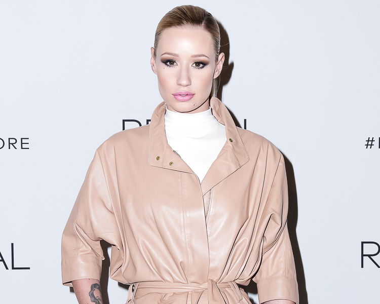 Iggy Azalea at the Calvin Klein Reveal launch