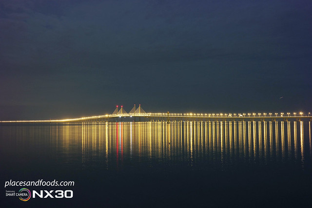 penang 2nd bridge mid view