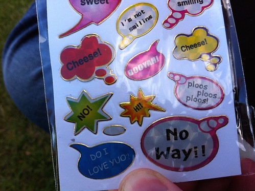 Perth Royal Show 2014: Showbag Stickers, Made in China