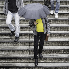 Yellow Shirt, Umbrella