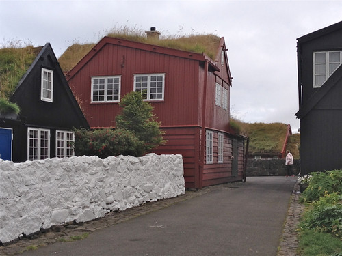 Faroe Islands - Thorshavn old town 2
