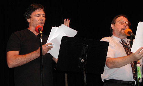 Richard Hatch with Brad Strickland