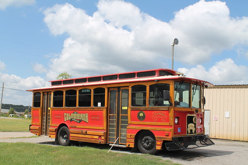 The Columbiana Trolly (Columbiana, Alabama)
