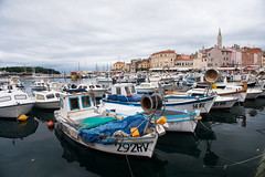 Harbor, Rovinj, Croatia.