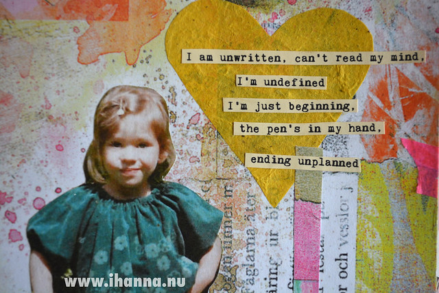 Art Journal: Ending unplanned