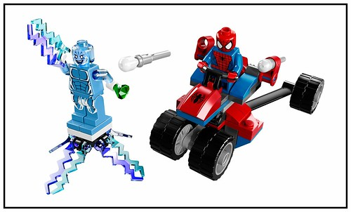 LEGO Marvel Super Heroes 76014 Spider-Trike vs Electro 00