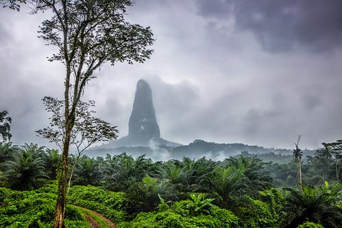Pico do Cão Grande (Big Dog Peak), São Tomé and Principe