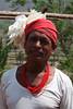Medicine man in the village of Regintal, Orissa