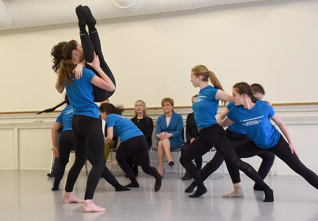 Scottish Ballet Youth Exchange Performance at NYU