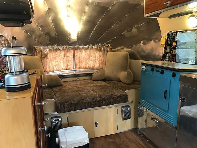 1948 Airstream-Bedroom Area