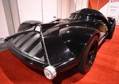 Hotwheels full sized Darth Vader car
