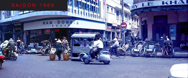 SAIGON 1969 - Ngã ba Nguyễn Huệ - Nguyễn Thiệp