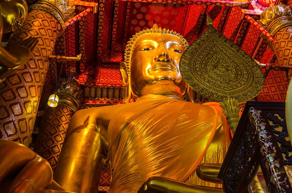 Buddha in Wat Phanan Choeng