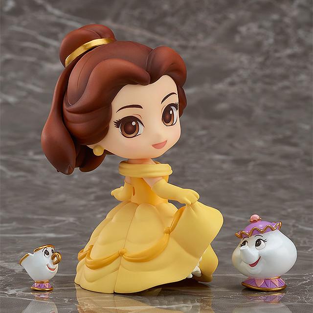 「喜愛讀書與夢想的迪士尼公主!」黏土人《美女與野獸》貝兒 ねんどろいど 美女と野獣 ベル