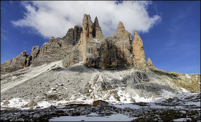 Tre Cime di Lavaredo des del Rifugio Lavaredo (Italia)