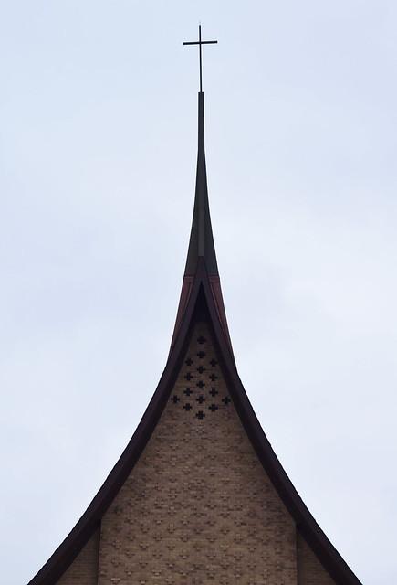 Detail, St. Johns UCC- Unknown Architect (1961), Lyons, IL., 2017