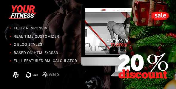 YourFitness WordPress Theme free download