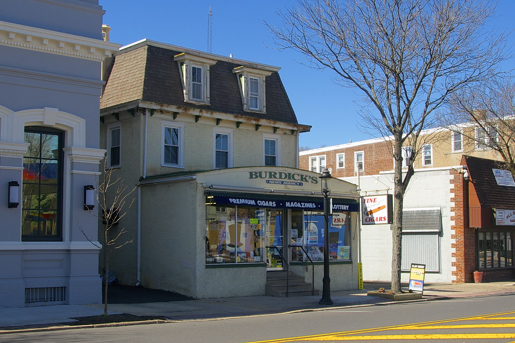 Burdick's Hatboro News Agency - Hatboro PA - Retro Roadmap