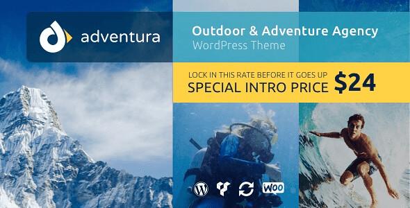 Adventura WordPress Theme free download