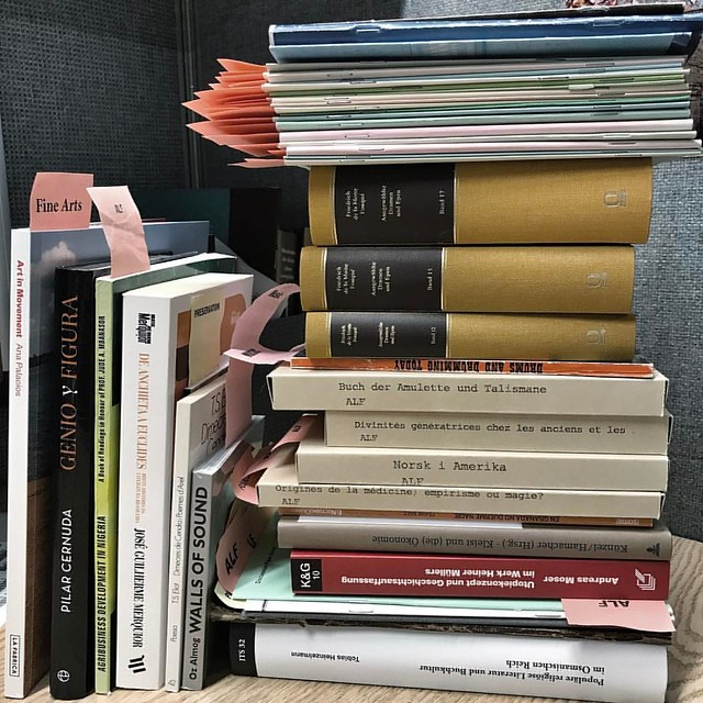 Tuesday's Work #work #cataloging #techservices #books