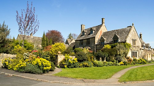 Cotswold house and garden, Chipping Campden