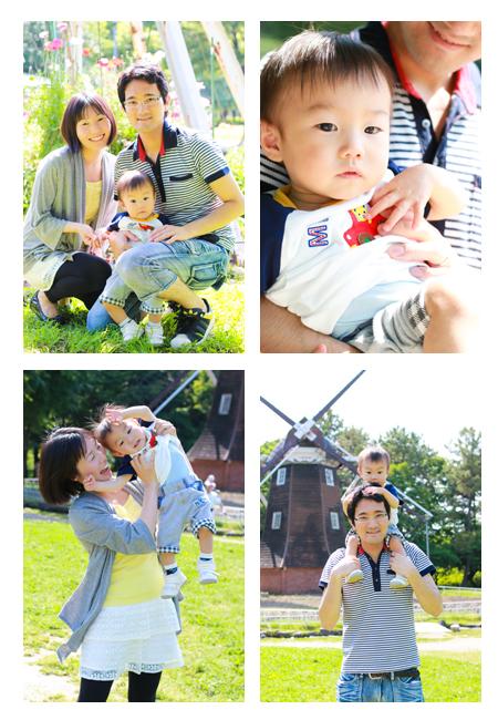 ロケーション撮影 野外撮影 公園フォト 名城公園 名古屋市 家族写真 子供写真 出張撮影