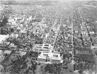 Aerial Photograph of Pennsylvania Avenue in Washington, DC, 05/07/1929