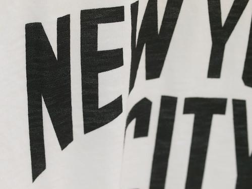 """Velva Sheen / """"New York City"""" Tee"""
