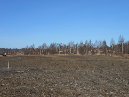 Peltonäkymä, Pohjois-Tapiola Espoo 13.3.2014