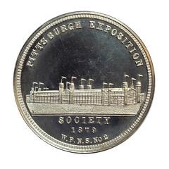 WPNS medal 1879 OBV