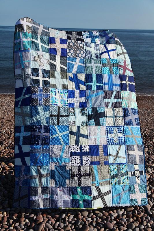 Wonky Cross quilt 2