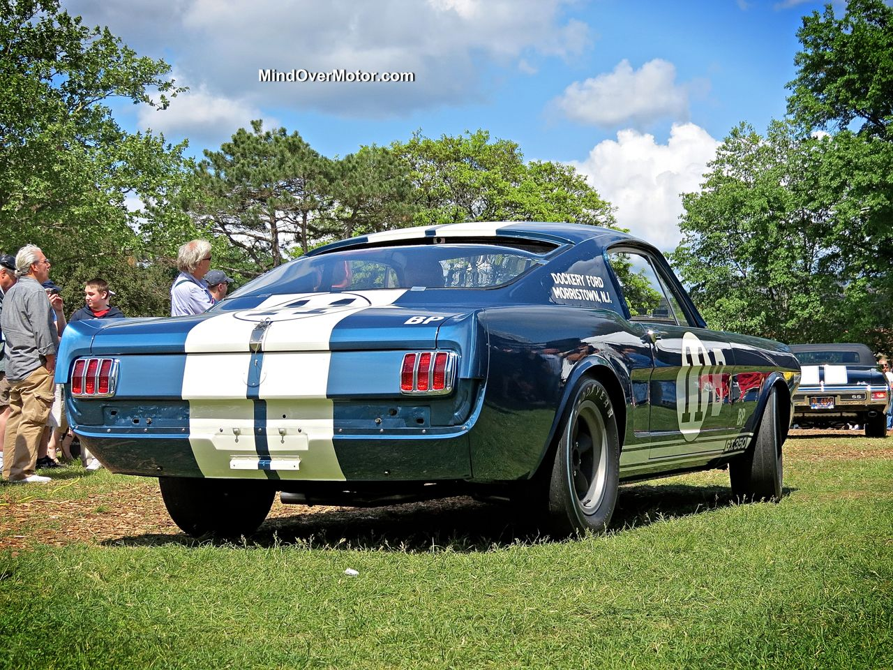 Shelby Mustang GT350R at the Greenwich Concours d'Elegance