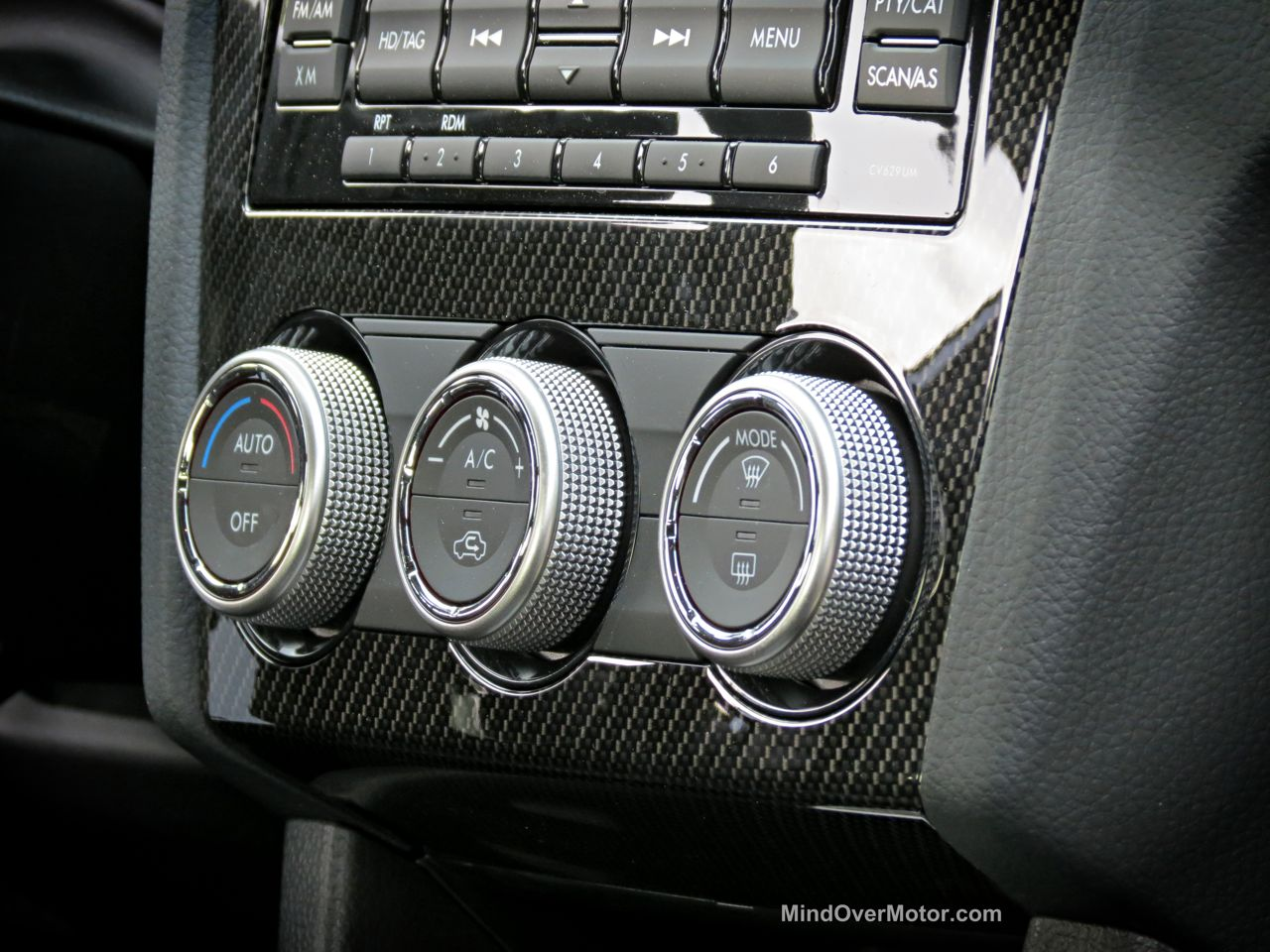 2015 Subaru WRX Trim