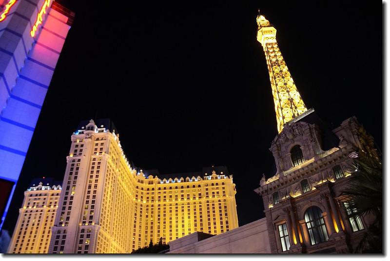 The Eiffel Tower at Paris Las Vegas 2