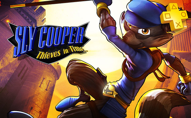 PS Plus - Sly Cooper Thieves in Time