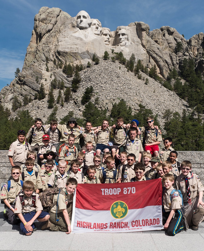 Boy Scout Troop 870, Highlands Ranch CO