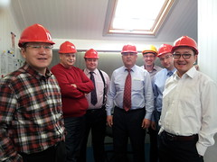 Studyvisit_Enfield_factory_inspection
