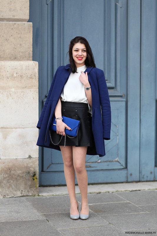 Kenza at Paris fashion week