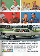 1966 General Motors Climate Control Advertisement Readers Digest May 1966