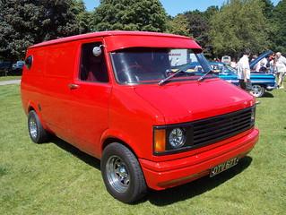 1981 Bedford CF custom van