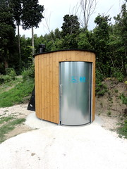 outdoor structure, portable toilet, outhouse,