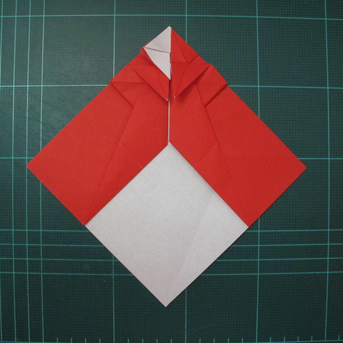 การพับกระดาษเป็นรูปสัตว์ประหลาดก็อตซิล่า (Origami Gozzila) 024