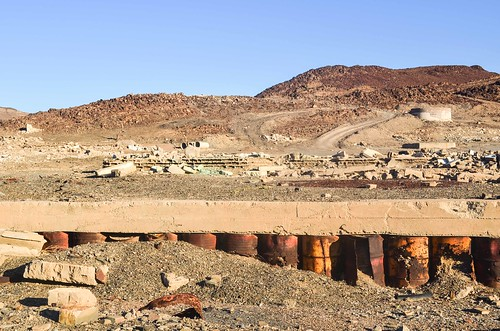 Ruins at the Brandberg West Mine, Namibia