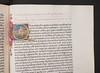 Illuminated and historiated initial in Lactantius, Lucius Coelius Firmianus: Opera