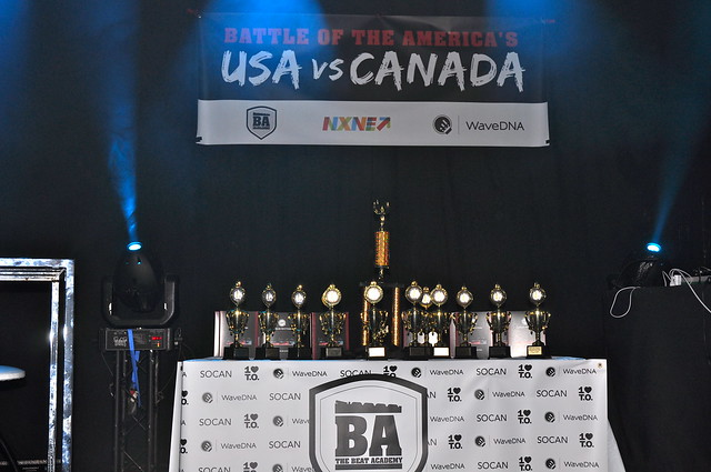 Battle Of The Americas: USA vs Canada NXNE June 21, 2014