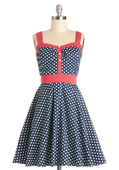 Modcloth Captain's Blog Dress